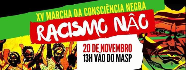 XV Marcha da Consciência Negra