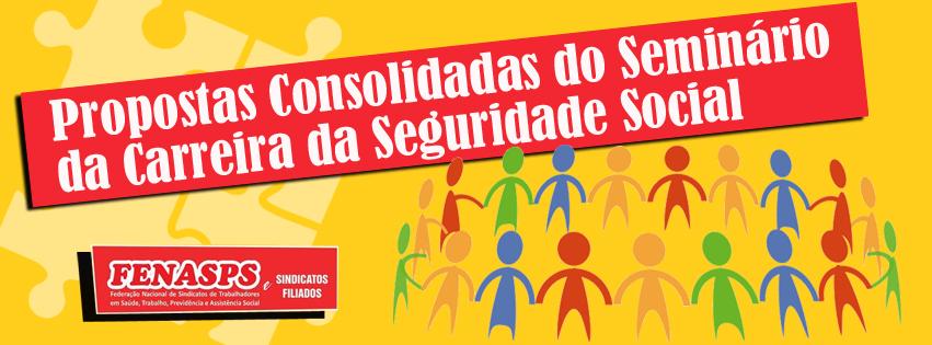 Seminário Nacional da Carreira da Seguridade Social