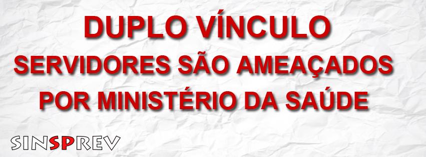 Ministério da Saúde ameaça servidores junto à Corregedoria