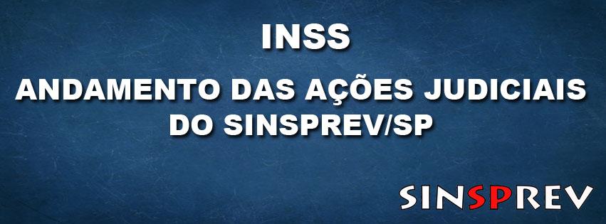 Andamento das ações dos servidores do INSS