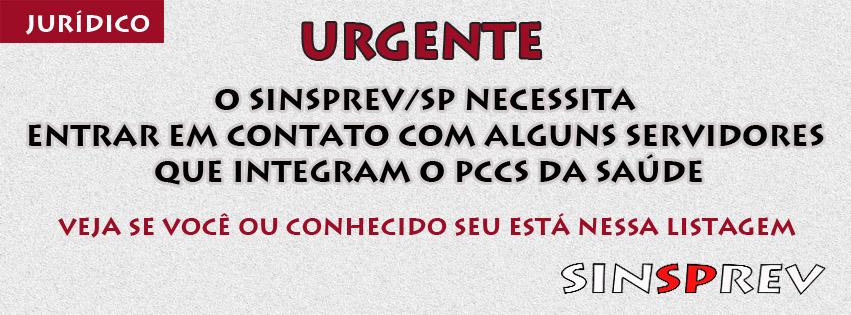 Urgente: Contato com servidores do PCCS da Saúde